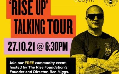 'Rise Up' Talking Tour Workshop – Bodyfit Marrickville